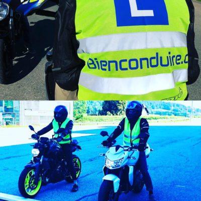 Préparation à l'examen moto